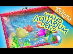 (19) Aquarium Wandbild | Basteln mit Kinder | Basteln Vorstufe | Bastelkanal Kinderkanal Tobilotta 107 - YouTube