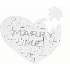 Asprey Marry Me Jigsaw Puzzle ($510) ❤ liked on Polyvore featuring wedding