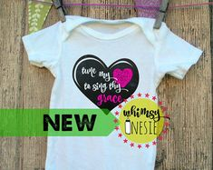 Tune My Heart to Sing Thy Grace from Whimsy Onesie $15.50+ shipping www.whimsyonesie.etsy.com
