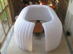 OIAB - Office in a bag inflatable structure Event Corporate, Inflatable Furniture, Changing Room, Stage Design, The Office, Bean Bag Chair, Tent, Creative, Outdoor Decor