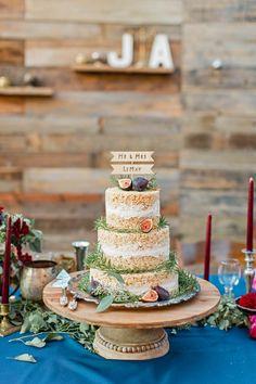 wedding cakes alternatives Rice Crispy Cake at Oakland Wedding by Cheers Babe Photo Fall Wedding Cakes, Wedding Cake Decorations, Wedding Cake Designs, Wedding Cupcakes, Wedding Shot, Wedding Decor, Dream Wedding, Rice Crispy Cake, Rice Krispie Cakes