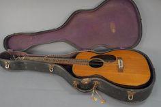 1945 CF Martin Guitar 0-18 no. 98086 est. 1833 Nazareth. P.A. six string guitar.- Realized Price: $4,972.50