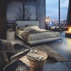 Sunday mood... The beautiful Bedroom Minotti, what do you think?