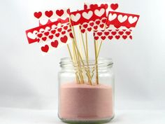 12 Muffin Fingerfood Topper Kaffee für Verliebte von Ixi-und-Frida auf DaWanda.com