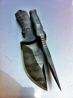 A knife that thick would make a great multi purpose tool for outdoor survival.