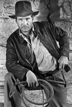 Harrison Ford as Indiana Jones from Raiders Of The Lost Ark please follow me,thank you i will refollow you later