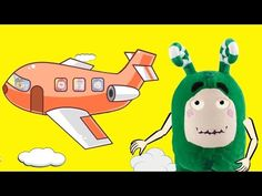 Oddbods crying missed his plane Finger Family Rhymes For Kids - YouTube