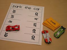 park the car. could use with so many phonics patterns! The Bubblegum Tree: Word Work Wednesday Phonics Reading, Teaching Phonics, Phonics Activities, Kindergarten Reading, Reading Activities, Teaching Reading, Guided Reading, Teaching Ideas, Phonics Games Year 1