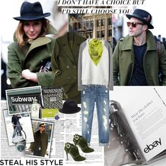 """Rock Menswear Like a Lady with eBay"" by vassiliki-g ❤ liked on Polyvore"