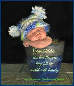 Grandchildren are like flowers. They fill the world with beauty Grandkids Quotes, Quotes About Grandchildren, Grandmothers Love, Pomes, Grandma Quotes, Grandma And Grandpa, Family Love, Family Quotes, Beautiful Babies