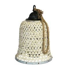 Add dimension and industrial style to any area of your home by featuring the Sagebrook Home Woven Bamboo Bell Votive Lantern Candle Holder . This hanging. Metal Lanterns, Candle Lanterns, Gold Color Combination, Brown Candles, Hanging Candles, Lantern Candle Holders, Metal Trim, Home Decor Accessories, Accent Pieces