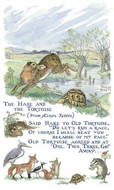 the tortoise and the hare fable