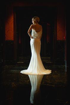 'St James' dress by Anne Bowen Different Wedding Dresses, Unique Bridesmaid Dresses, Brides And Bridesmaids, Wedding Shoot, Wedding Attire, Bridal Gowns, Wedding Gowns, Beautiful Gowns, Luxury Wedding
