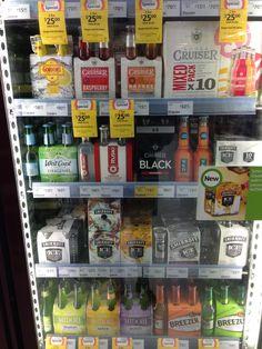 Coles fridge layout