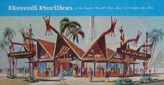 Hawaii Pavilion at the World's Fair