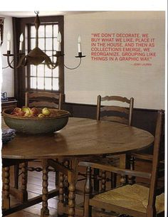 I believe this statement is more true for those of us who love country, primitive furnishings.