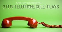 Telephone role-plays are a great activity to do in your ESL class. Most of the time, they take little to no time to prepare, and they challenge both your students' listening and speaki