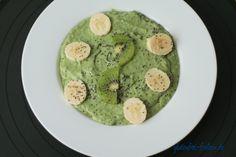 Leckerer und gesunder Start in den Tag mit einer Green Smoothie Bowl - #glutenfrei #laktosefrei
