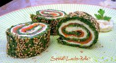 low carb Spinat-Lachs-Rolle Wer Lachs und Spinat mag wird begeistert sein und eure Gäste auch… versprochen! Für das besondere Sonntagsfrühstück, ein Highlight auf jedem Buffetoder ein…