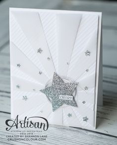 Stampin Up Sunburst Die, All Occasion Card, Graduation, Baby: Just change our the glitter center Paper Cards, Diy Cards, Mini Albums, Star Cards, Congratulations Card, Creative Cards, Anniversary Cards, Homemade Cards, Stampin Up Cards