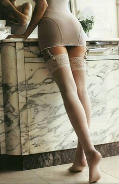 "Pinner said ""lace thigh-highs. i am a little obsessed!""; I said, I am kind of surprised that I don't own these"
