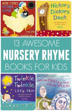 13 Awesome Nursery Rhyme Books for Kids