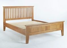 SHERWOOD Oak 5ft Kingsize Bed Frame