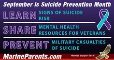 September is Suicide Prevention Month