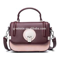 63def68b71 2017 New fashion high quailty women pu leather handbags women panelled messenger  bags female small flap shoulder bag