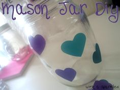With a Sparkle: Mason Jar DIY