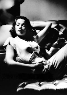 Gene Tierney, 1940s. Photographed by George Hurrell