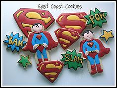 super man cookies