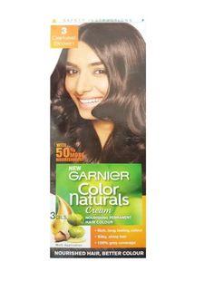 Garnier Color Naturals Nourishing Permanent Hair Colour Cream Darkest Brown 3 1 Set More