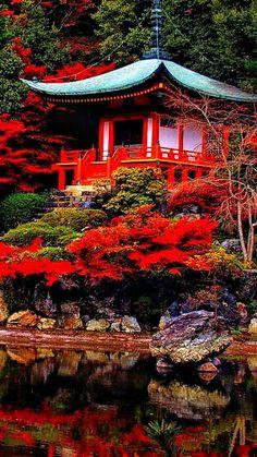 Quioto, na província de mesmo nome, Japão.  Fotografia: Robert Saddler.