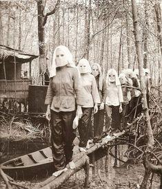 Female Viet Cong soldiers