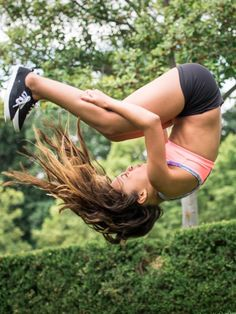 Flipping for sunshine and good times. | ivivva