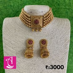 Gold Jewelry Simple, Gold Wedding Jewelry, Bridal Jewelry, Jewelry Design Earrings, Jewelry Necklaces, Jewellery, Indian Jewelry Sets, Gold Bangles Design, Pakistani