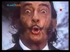a chocolate commercial starring.... Salvadore Dali ?!