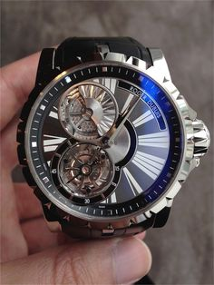 Roger Dubuis - Excalibur Collection in White Gold.