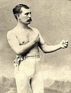 Bare Knuckle Boxer. Remembering a time when fists could change the world.
