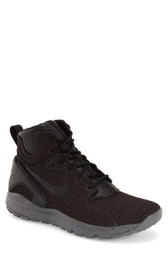 NIKE 'Koth Ultra' Mid Sneaker (Men). #nike #shoes #lace #leather #lining #round toe #ankle hight #sneakers