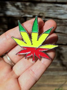 Your place to buy and sell all things handmade Rasta Colors, Herb Pots, I Tattoo, Cannabis, Tatting, Boho Chic, Piercings, Handmade Jewelry, Stuff To Buy