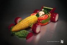 Salad Formula 1 Car - #F1 #SMDriver