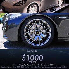 Save up to $1000 per set on BBS RN Forged wheels for BMW & Porsche. Limited supply December 4th-December 30th  Contact us for more info and pricing  1-866-448-4843  Sales@Vividracing.com  #vividracing #bbswheels #bbs #bmw #f10 #f12 #f30 #e90 #e92 #porsche #panamera #panameraturbo #carswithoutlimits #carsofinstagram #porscheclub #bmwnation #bmwgram