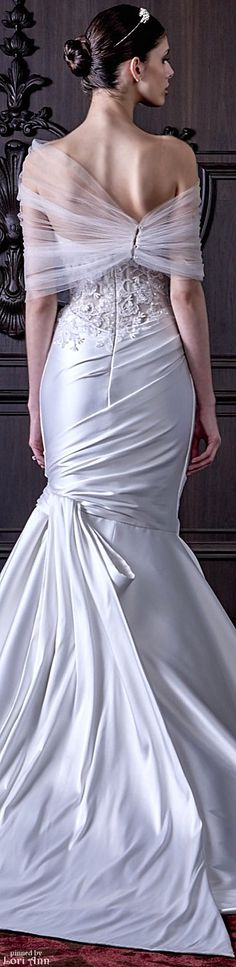Monique Lhuillier Bridal Spring 2016 #coupon code nicesup123 gets 25% off at  Provestra.com Skinception.com