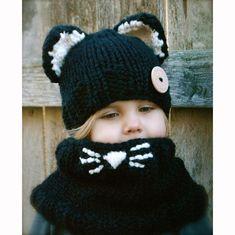 8e527c6b2872b7 Inspire Uplift Beanie Animals Knitted Beanie & Scarf Beanie Hats, Earflap  Beanie, Scarf Hat