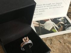 Piece Info: - 14K Rose Gold - Comfort Fit - Hypoallergenic, Cobalt-Free - Sleek Design - Durable - Comes in a Gift box #14k #Rose #Gold #Vintage #Diamond #Morganite #Engagement #Ring #& #Filigree #Band #White #Gold #Vintage #Band #Band #Art #Deco #set #14k #morganite #ring #18k #morganite #ring #rose #gold #engagement #wedding #ring #engagement #ring #pink #morganite #ring #morganite #sets #morganite #wedding #rose #gold #morganite #morganite #ring #morganite #engagement #morganite Floral Engagement Ring, Morganite Engagement, Morganite Ring, Engagement Rings, Vintage Diamond, Vintage Rings, Band Band, Cobalt, Natural Diamonds