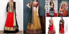 """Festive Affair!!"" Awesome list on #lehengas #weddings by Swati Pathak #fashion"