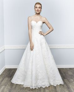 Kenneth Winston Style 1643 #weddingdress #bridal www.dansbridalandtux.com