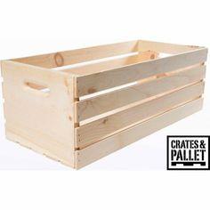 $18 WalMart Crates and Pallet X-Large Wood Crate - Walmart.com